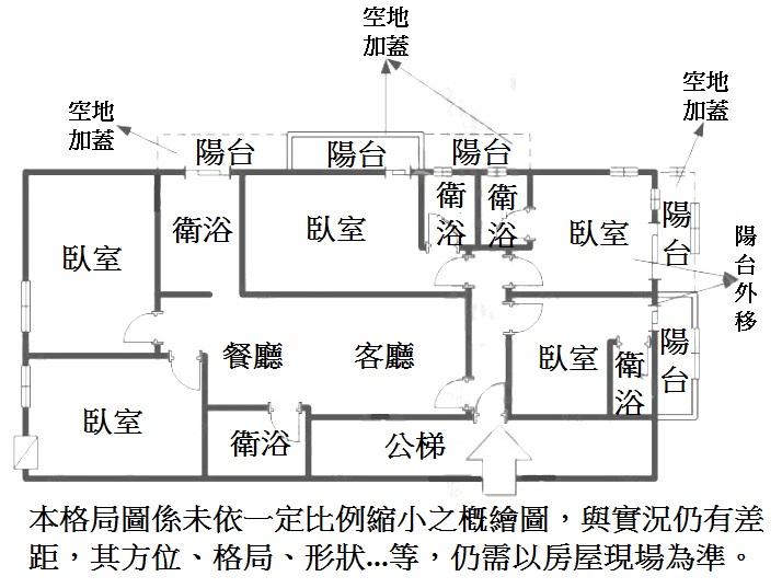 房屋电路识别图